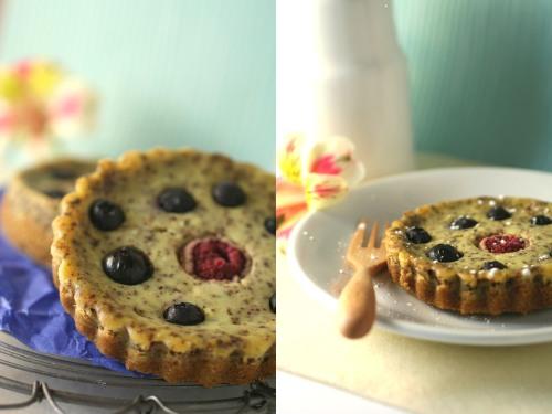 cheesecake de blueberries
